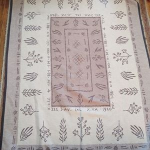 IBENA MADE IN GERMANY BLANKET SUPER NICE! L@@K!!